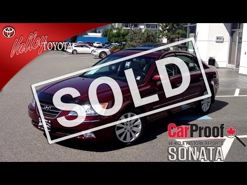 (SOLD) 2010 Hyundai Sonata Limited Preview, For Sale Here At Valley Toyota Scion # 14282A