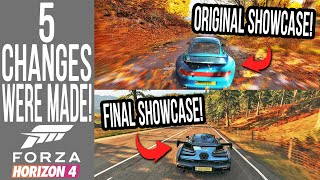 5 CHANGES Forza Horizon 4 Made During Early Development!