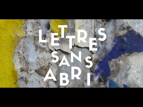 LETTRES SANS ABRI