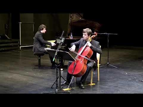 L. van Beethoven, Sonate pour violoncelle et piano no. 5 en Ré Majeur, 3ème mouvement<br /> Marc-Antoine Novel violoncelle, Philippe Hattat piano<br /> Strasbourg théâtre de Haute- Pierre, RecitHall, captation : Morgane Danan