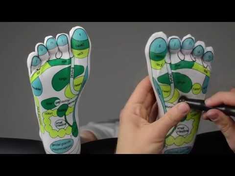Die Massage bei walgusnoj die Anlagen der Füsse bei den Kindern Videos