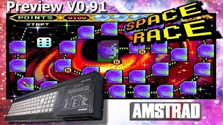 2020-03-04 Let's Play Amstrad CPC - Space Race (Quiz Retrogaming / Preview V0.91)