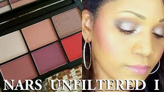 NARS Unfiltered 1 Cheek Palette - Review and Swatches
