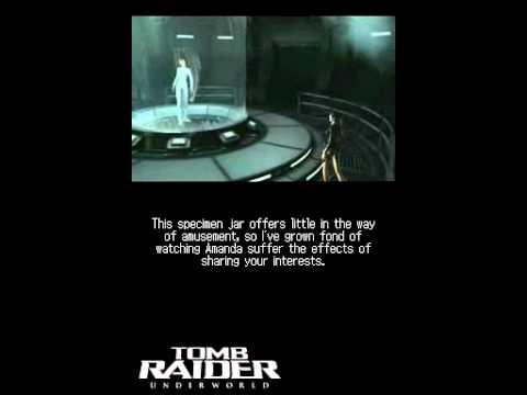 tomb raider underworld nintendo ds cheats