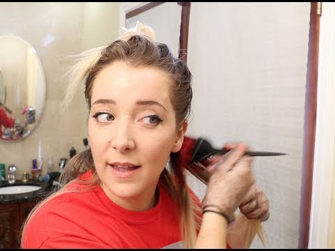 Cutting And Coloring My Own Hair
