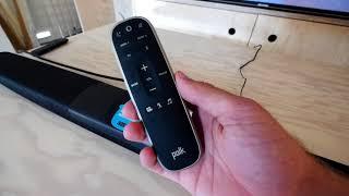 Coole Soundbar mit Echo Dot integriert   Polk CommandBar erster Eindruck
