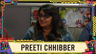 Preeti Chhibber talks Spider-Man with us LIVE from SDCC 2019!