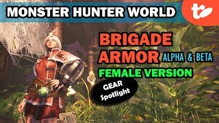 Got Coin? How to Get the Brigade Alpha, Beta Armor Set from Arena   Monster Hunter World