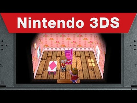 Видео № 2 из игры Animal Crossing: Happy Home Designer [3DS]