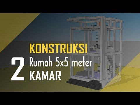 Design Rumah 5 x 7 Meter - C- nTu21 - Video - Dangdutan me