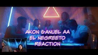 EL NEGREETO (AKON) & ANUEL AA - GET MONEY Reaction