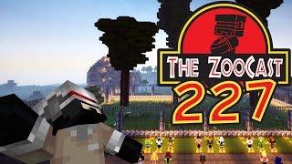 Minecraft Jurassic World (Jurassic Park) ZooCast - #227 An L-Shaped Exhibit!