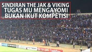 Nyanyian Untuk Polisi!! Viking Bobotoh & The Jak Mania Di SSA Bantul