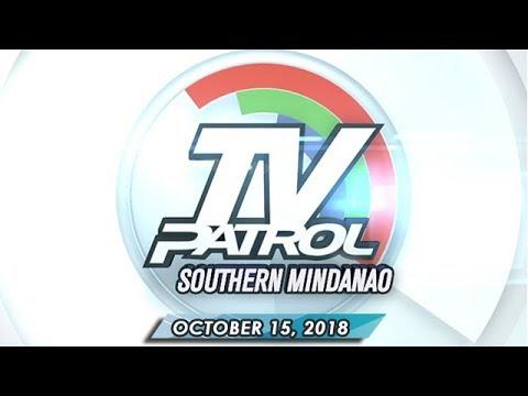 [ABS-CBN]  TV Patrol Southern Mindanao – October 15, 2018