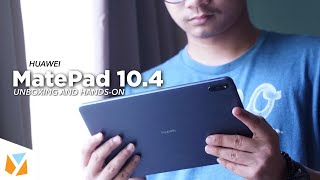 Huawei MatePad 10.4 Unboxing and Hands-On