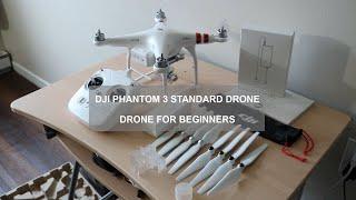 DJI Phantom 3 Standard Drone Unboxing and Setup