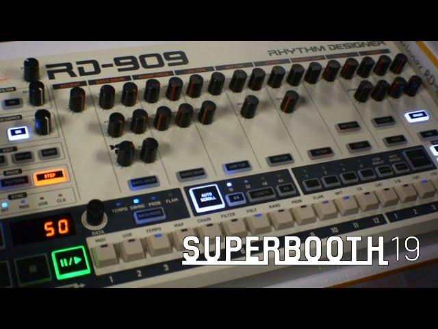 Behringer RD-909 - драм машина (Superbooth19)