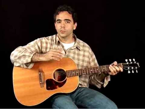 How to Play Acoustic Guitar - Lessons for Beginners - Holding the Guitar