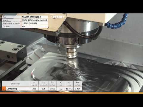 Pramet SNGX high feed milling