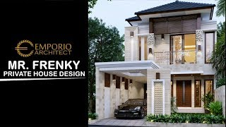 Video Desain Rumah Villa Bali 2 Lantai Bapak Frenky di  Jakarta Timur