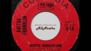 Aretha Franklin - The Christmas Song / Winter Wonderland - 7″ - 1964