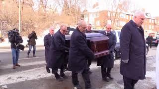 RAW: Funeral of former Habs Dickie Moore