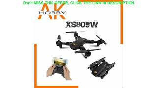 Visuo XS809W XS809HW Quadcopter Mini Foldable Selfie Drone with Wifi FPV 0.3MP/2MP HD Camera Altit