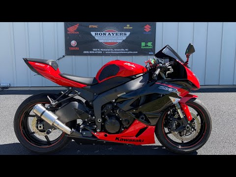 2012 Kawasaki Ninja® ZX™-6R in Greenville, North Carolina - Video 1