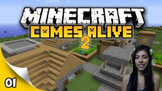 Minecraft Comes Alive 2 - EP 1 - A Bad Start!