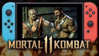 Mortal Kombat 11 - Nintendo Switch Gameplay Reveal!!