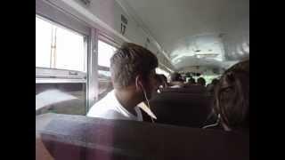 Justin Bieber- Baby (band bus cover ft. Hayden)