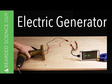 DIY Electric Generator (Tribute to The Martian)
