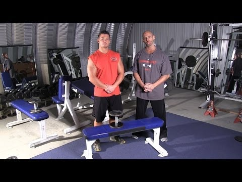 Single Arm Lying Dumbbell Extension