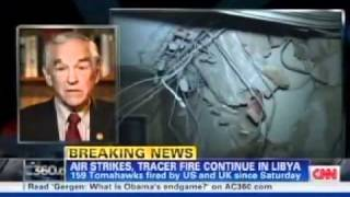 Ron Paul discussing Libya on AC360 03/21/11 - Video Youtube