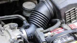How to replace install new air intake hose 1997 99 toyota camry repair replace honda odyssey intake tube hose 2005 2010 fandeluxe Choice Image