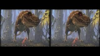 VR video Dino 3D 8K