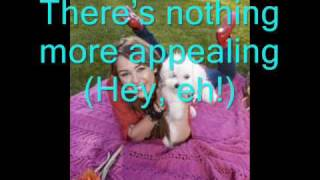 The Good Life Miley Cyrus full (lyrics on screen)