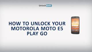 how to unlock motorola e5 play - Kênh video giải trí dành