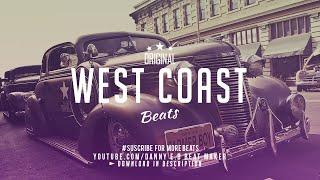 'West Coast' - Freestyle Rap Beat Hip Hop Instrumental  (Prod: Danny E.B)