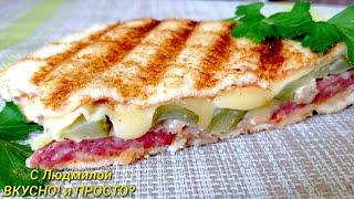 Как приготовить сэндвич. Идеи для сэндвичей. Что положить в закрытый горячий бутерброд? Sandwiches.
