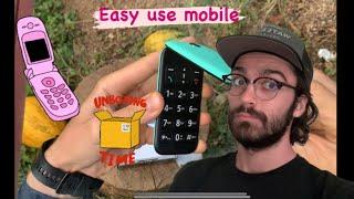 Calvin main vlog's:Panasonic easy use mobile phone KX-TU400 EXC UNBOXING (GREEK) κινητό με καπάκι !