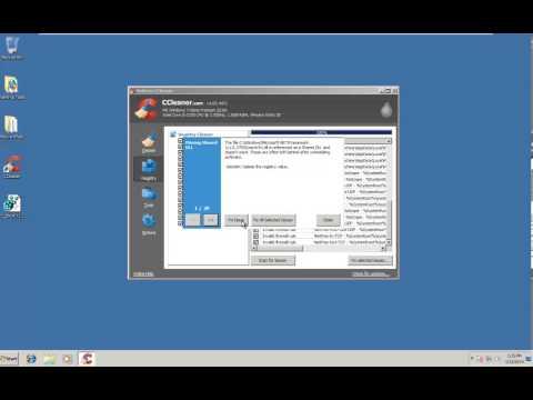 CCleaner tutorial