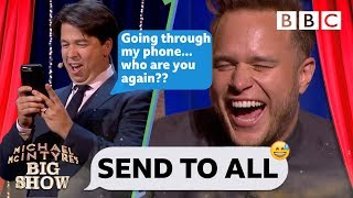 Send To All with Olly Murs - Michael McIntyre's Big Show: Series 2 Episode 1 - BBC One