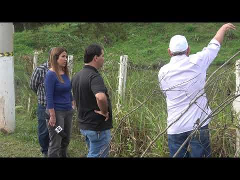 Prefeito Ayres Scorsatto na Represa do Calazan