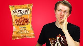 Irish People Taste Test Snyder's American Pretzels