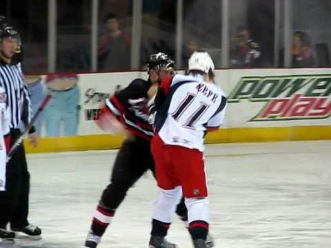 Kyle Hagel vs. Adam Keefe