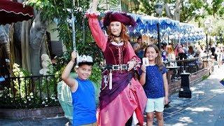 Meet Redd the Pirate in New Orleans Square, Disneyland Park, Disneyland Resort