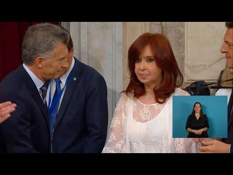 El paso de mando entre Alberto Fernández y Mauricio Macri