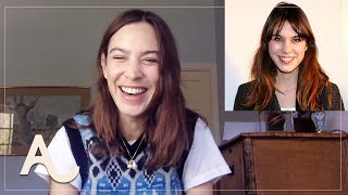 Alexa Chung Reacts To Her Past Hairstyles - Lockdown Locks