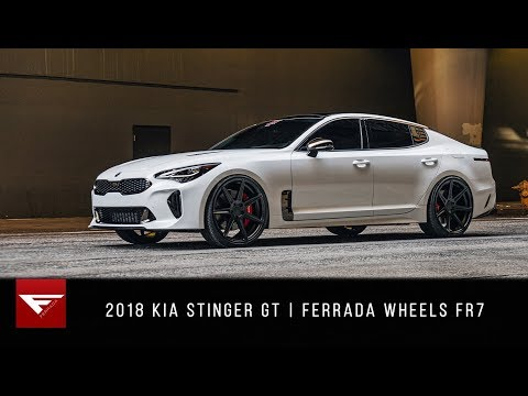 2018 Kia Stinger GT | The Bad Guy | Ferrada Wheels FR7